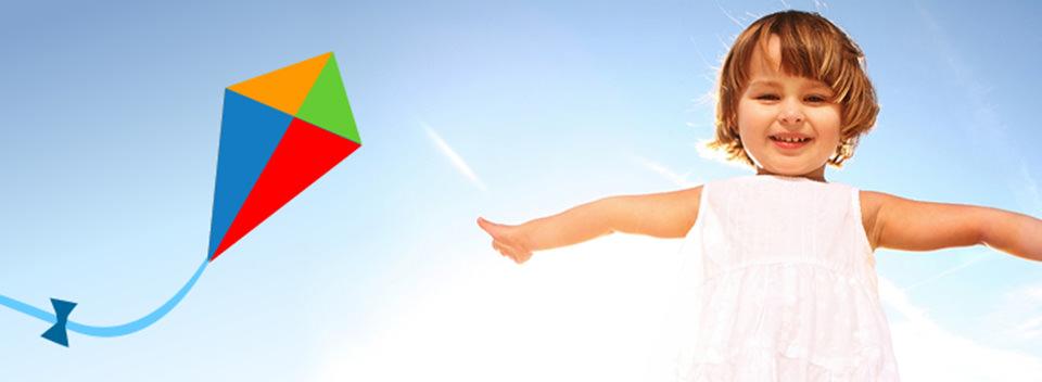 Clear Day Nurseries Kite Banner